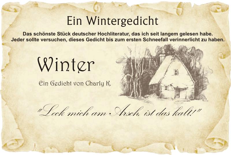 wintergedicht