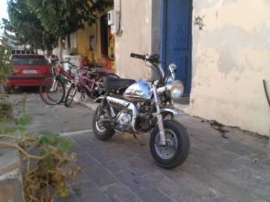 Moped Monkey