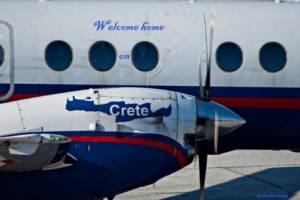 Flugzeug Kreta