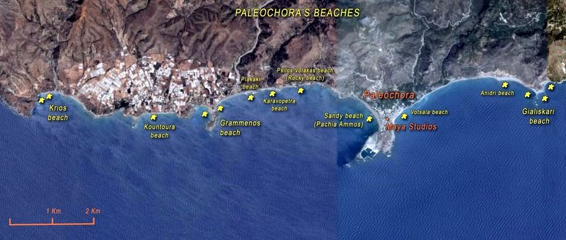 paleochora-beaches