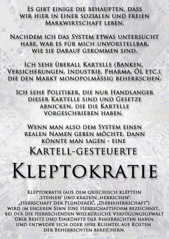 kleptokratie