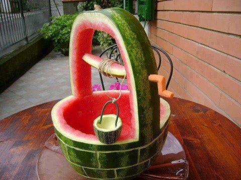 wassermelone-brunnen