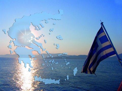 griechenland-mit-fahne