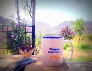 Kaffee Tasse Radio Kreta
