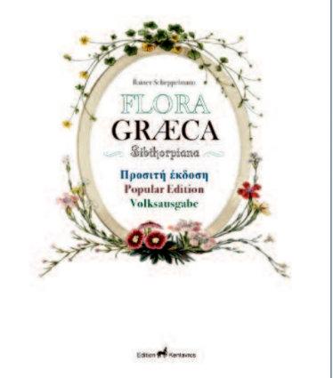 Flora Graeca Titel der Volksausgabe