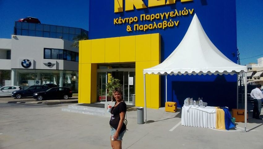 ikea er ffnet 2 filialen auf kreta radio kreta. Black Bedroom Furniture Sets. Home Design Ideas