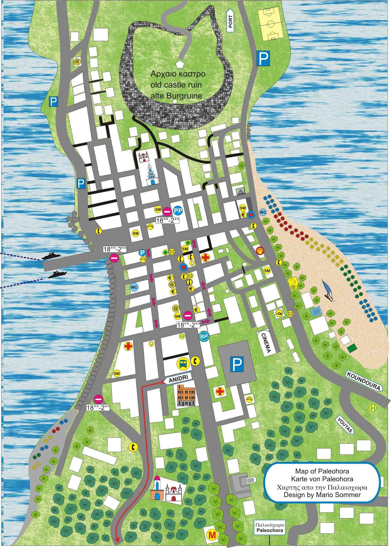 Paleochora Karte