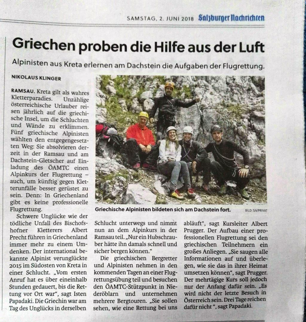Salzburger Nachrichten 02.06.18