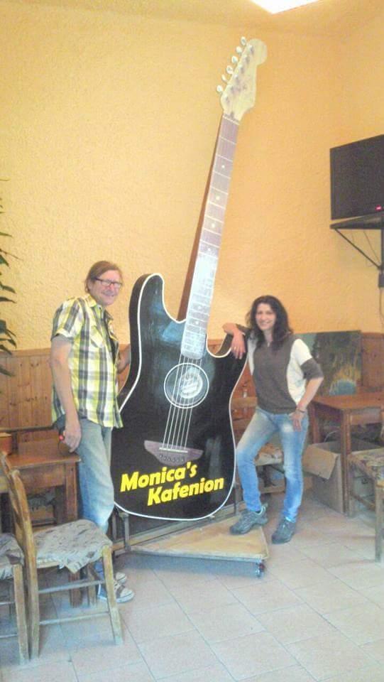 Gitarre Monica Kafenio
