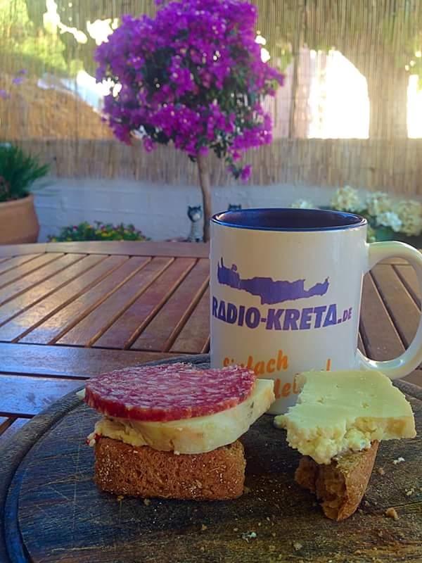 Kaffee Radio Kreta Tasse
