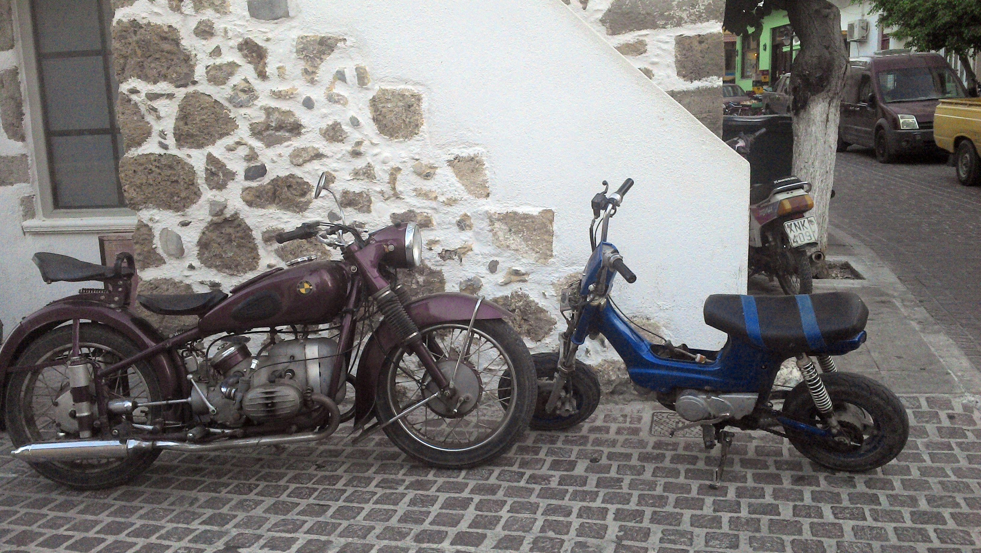 BMW und Mini Moped