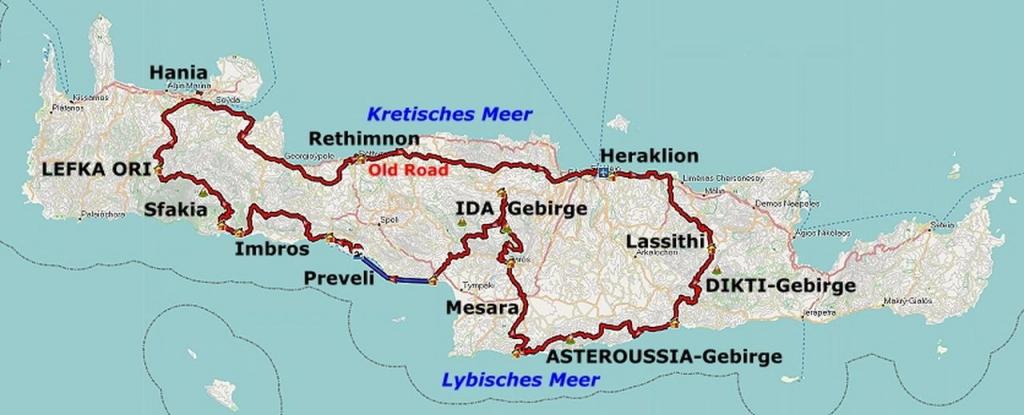 Ida Gebirge