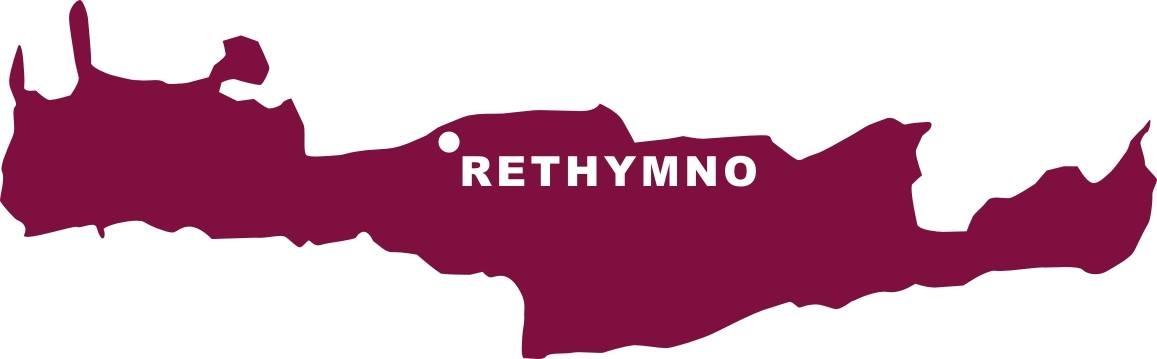 Aufkleber Rethymno