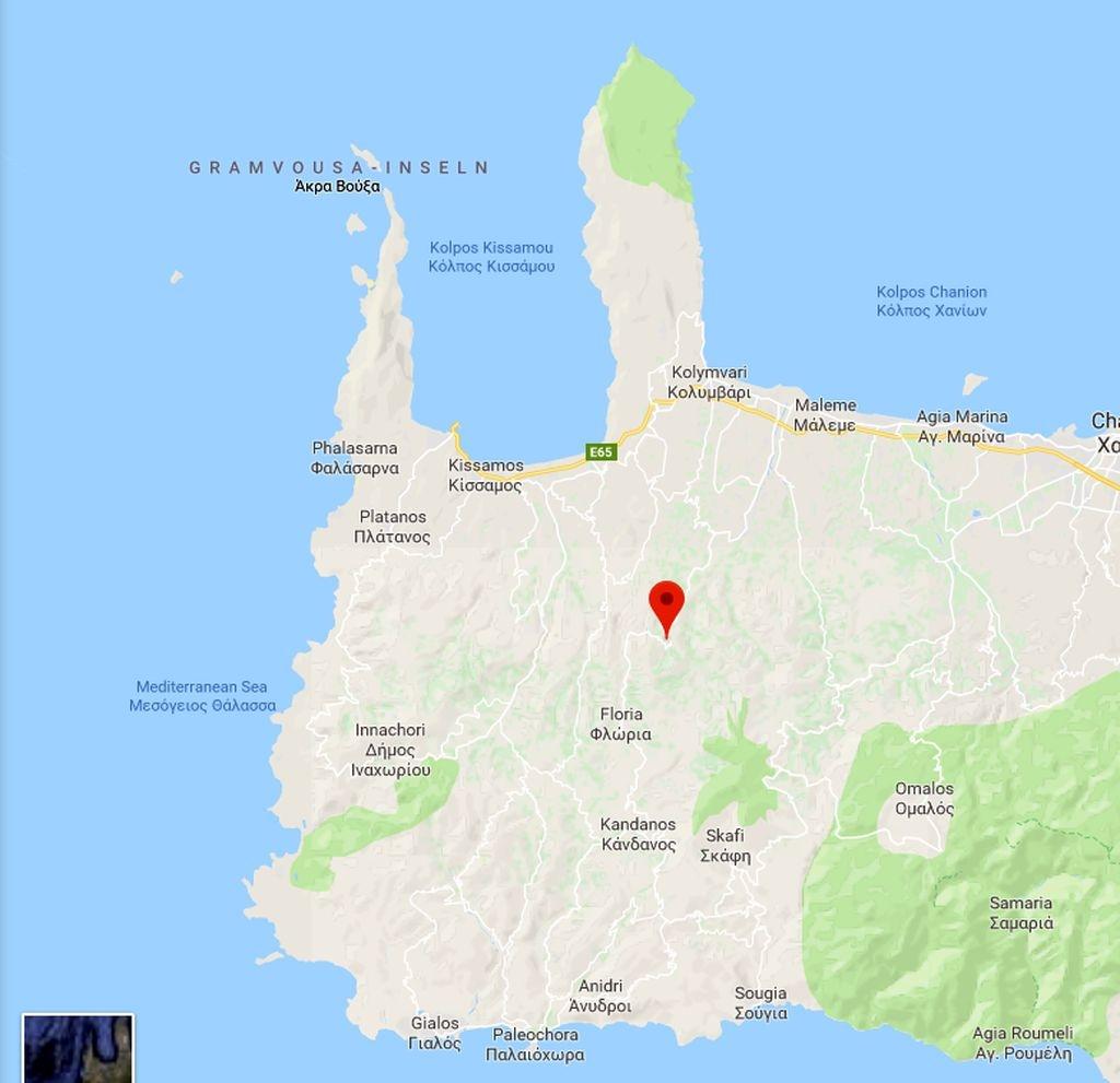 Karte Kakopetros