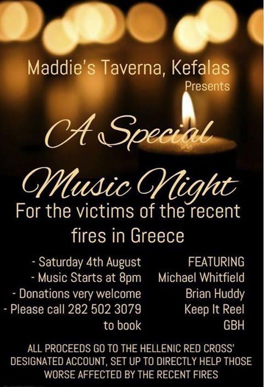 Music night Kefalas
