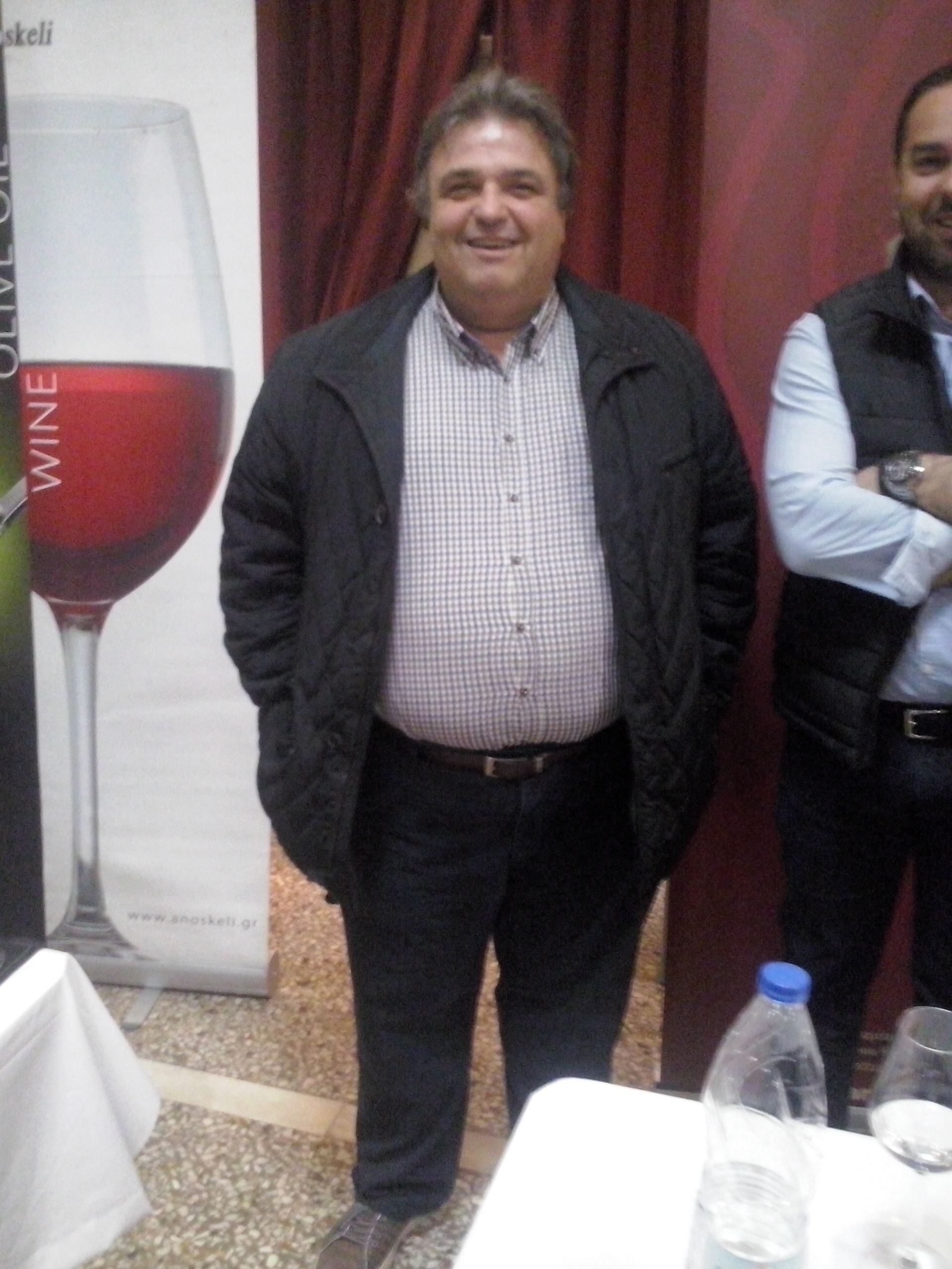 Weinfest 2017 Organizer Stavros Chatzidimitriou