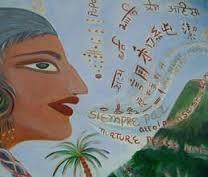 UNESCO Welt Poesie Tag Logo