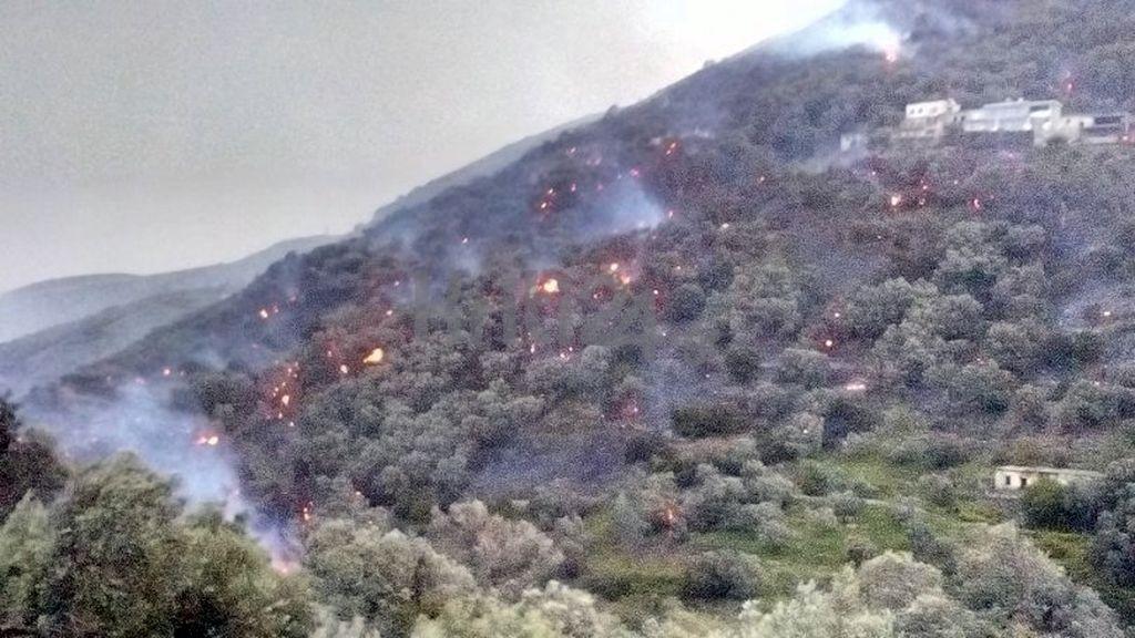 Feuer bei Kissamos