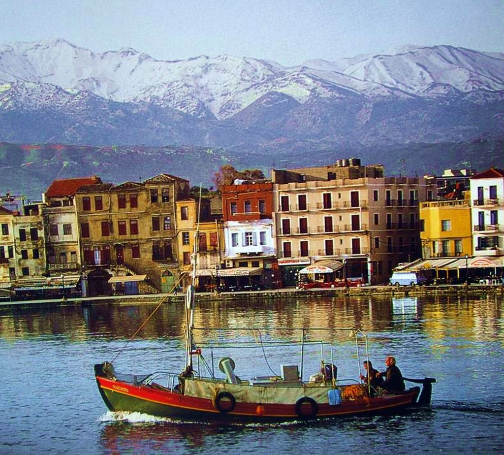 Chania im Winter