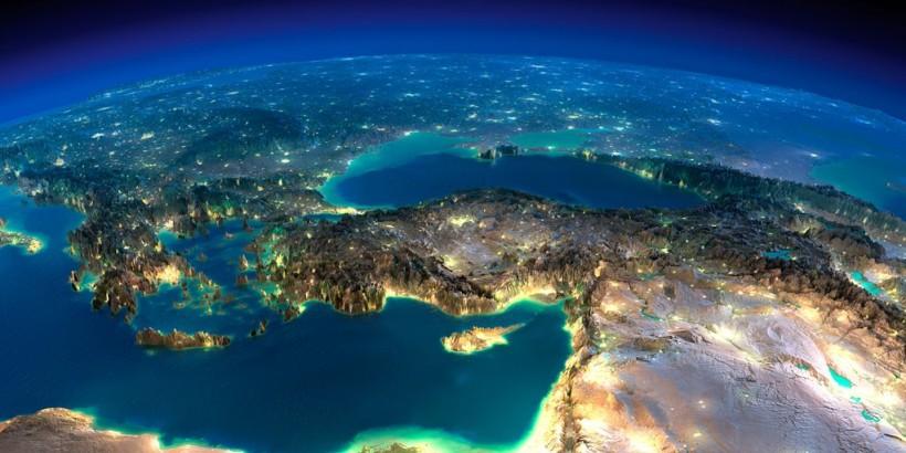 Kreta aus dem All