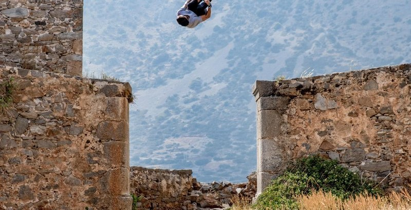 Dimitris Kyrsanidis performs in Spinalonga island, Greece on April 13th, 2016