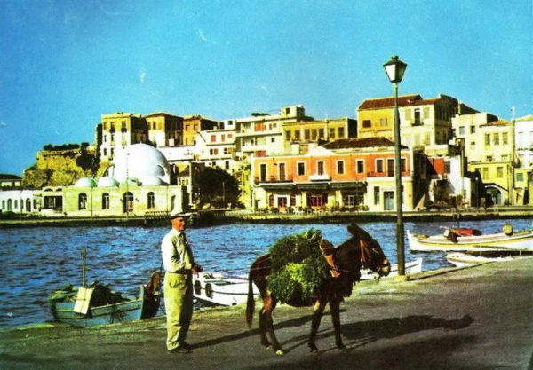 Chania 1970 Esel