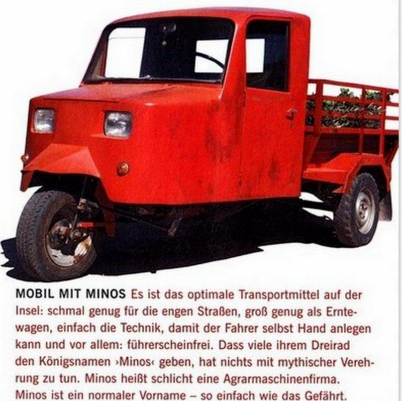 minotaurus-dreirad