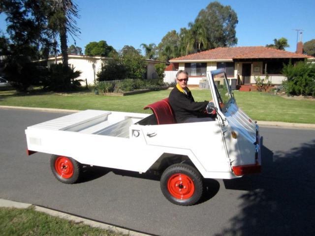 Ein restauriertes Farmobil in Australien