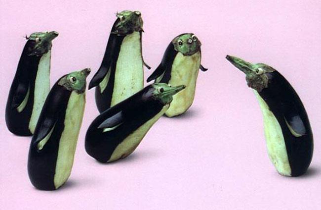 auberginen-pinguine