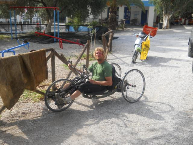 Das Fahrrad für Krüppel, wie Walter sagt.