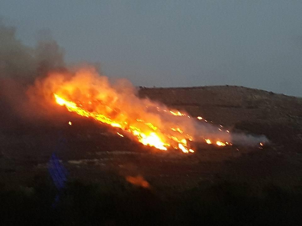 Falasarna Feuer 11.10.2016