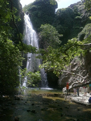 Richtis Schlucht Wasserfall
