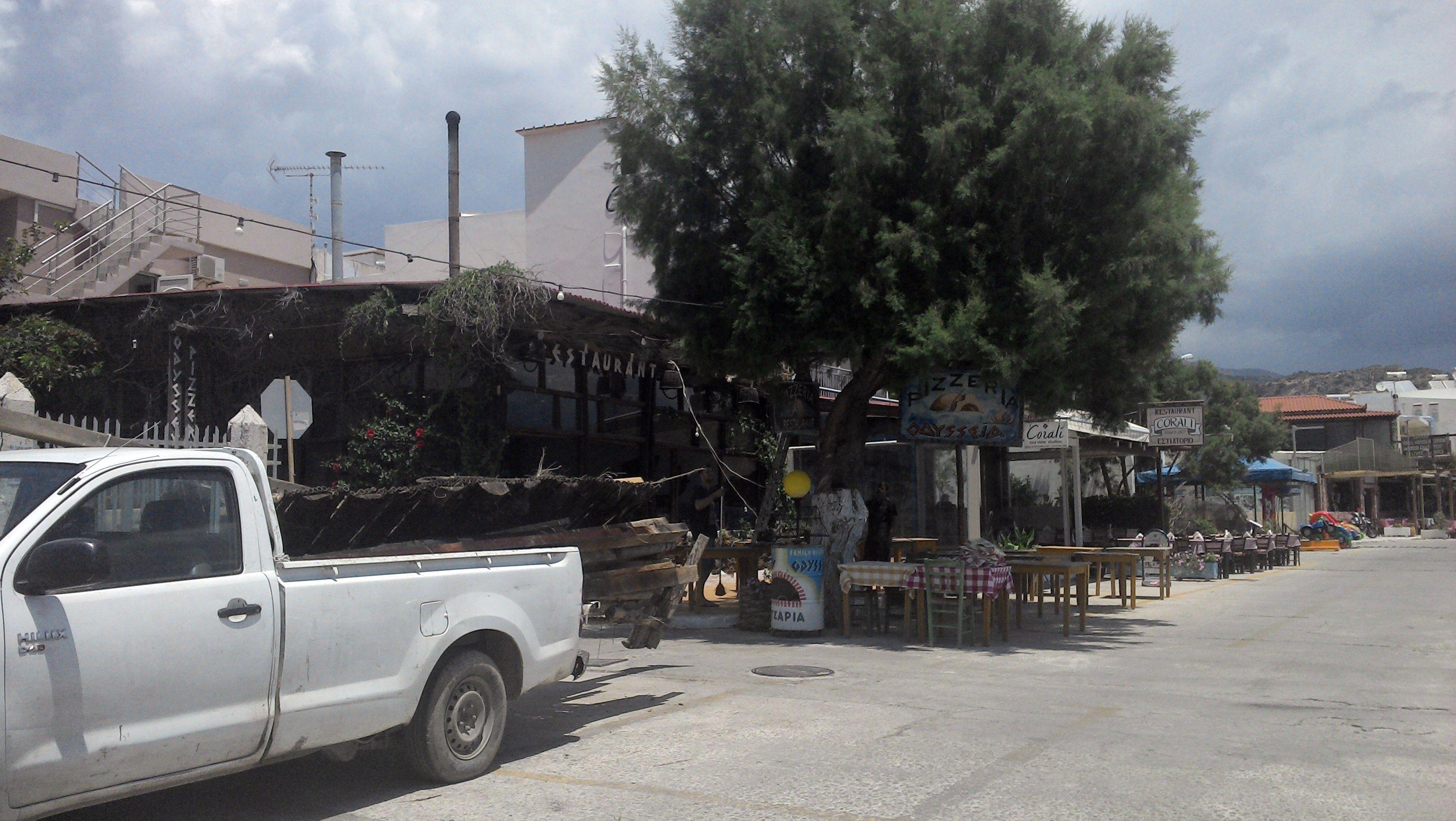 Taverna Odysseas ohne Dach
