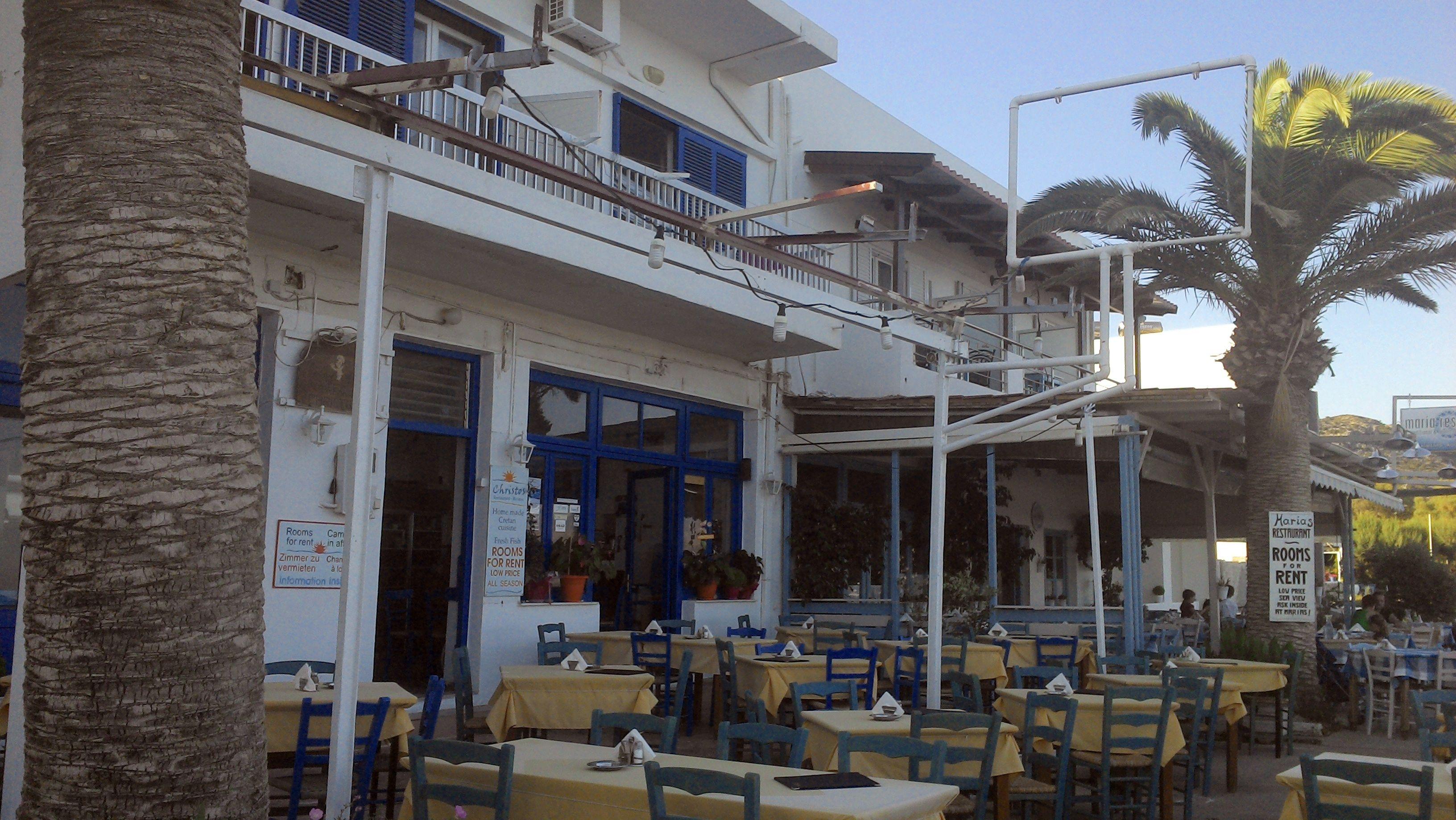 Taverne Christos ohne Pergola