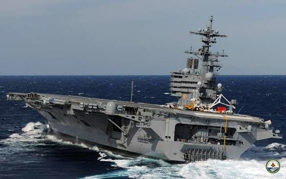 USS George Bush Flugzeugtraeger