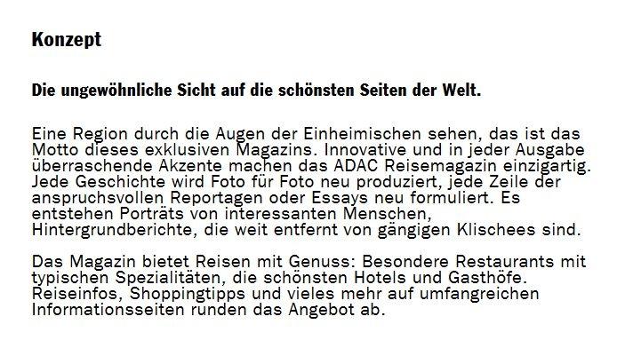 ADAC Konzept