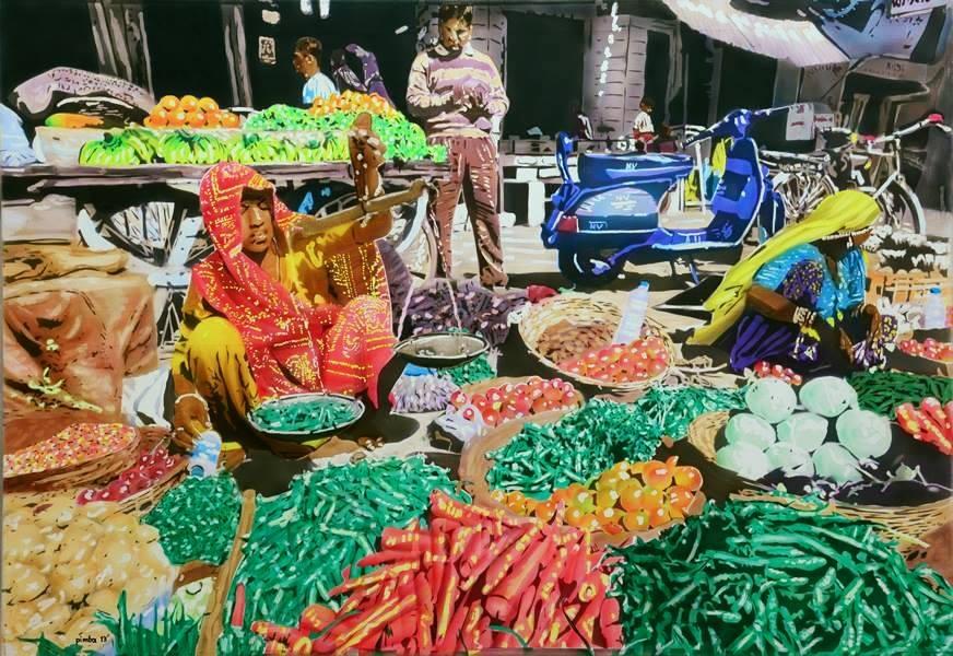 AFG indischer Markt