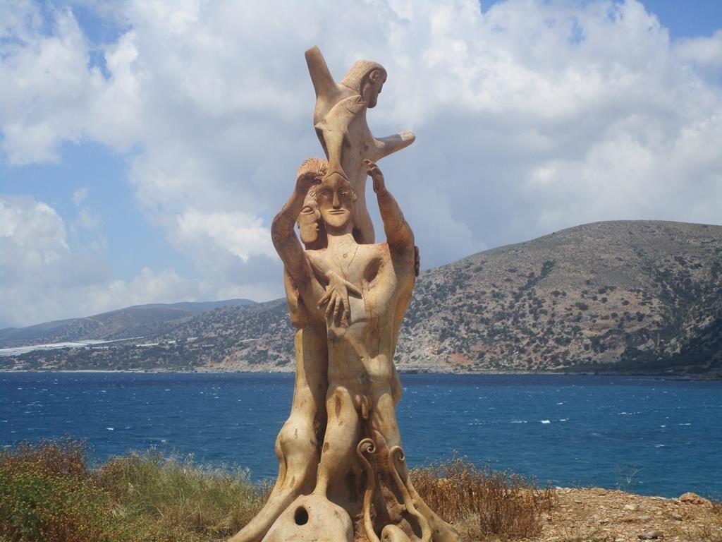 Kostas Skulptur Hafen