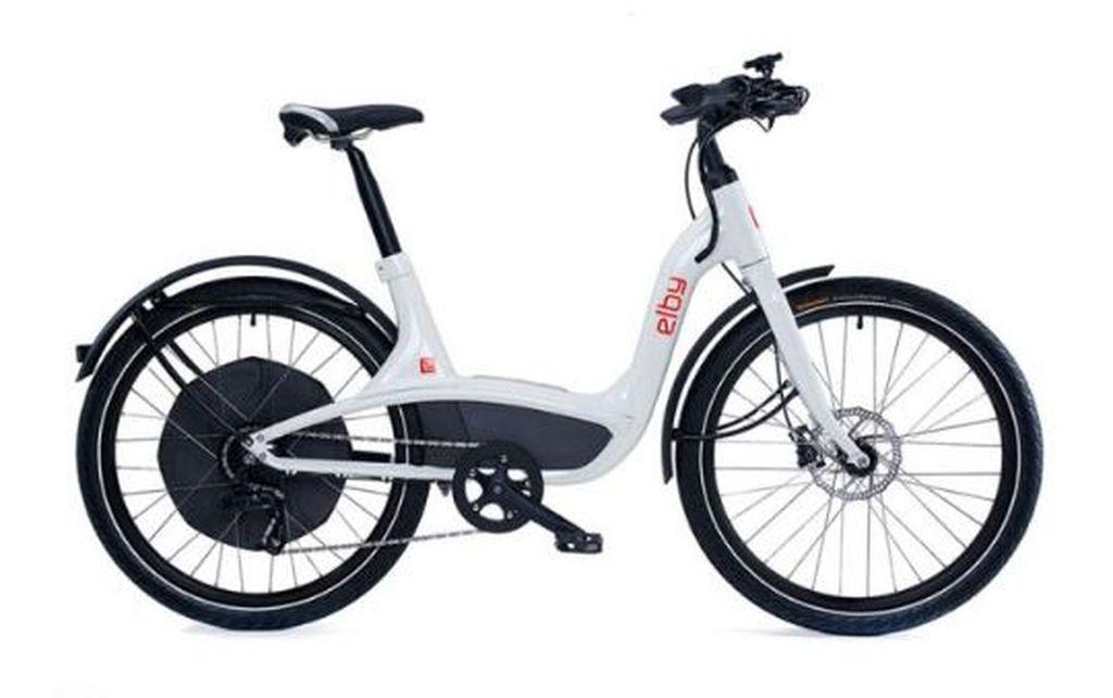 E-Bike white
