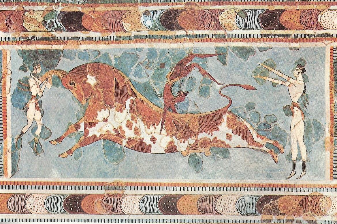 Minotaurus Freske-von Knossos