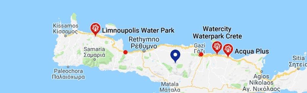 Aquaparks Karte