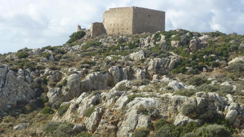 CG 25 Spaniakos Koules, Osmanische Festung, oberhalb von Azogires, Nov 2107 (Copy)