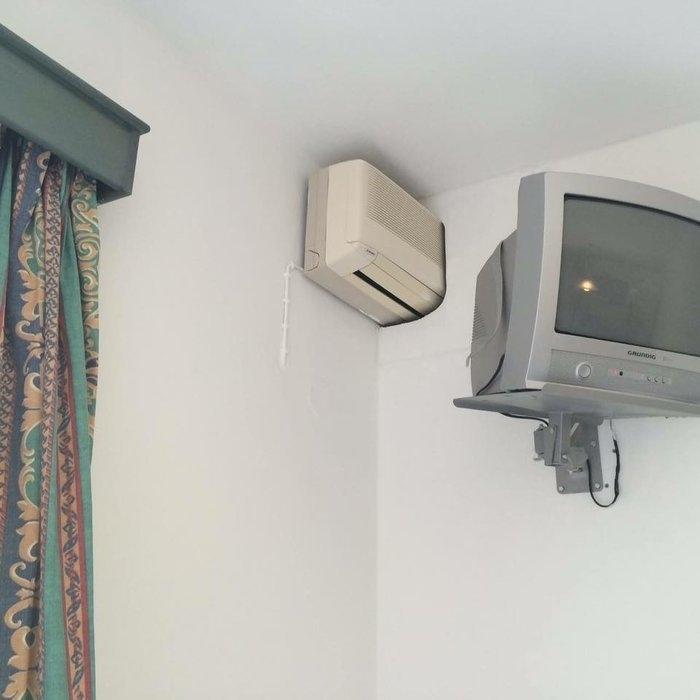 Eine AC fuer 2 Zimmer