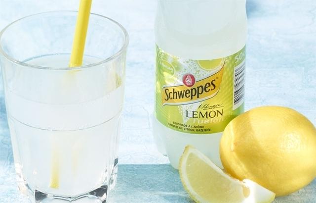 Schweppes Limonade