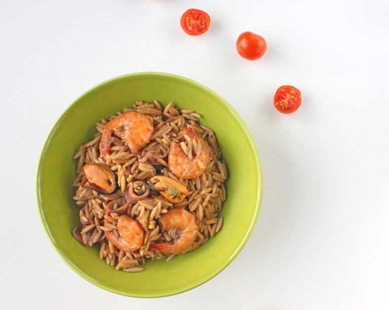 Seafood Giouvetsi