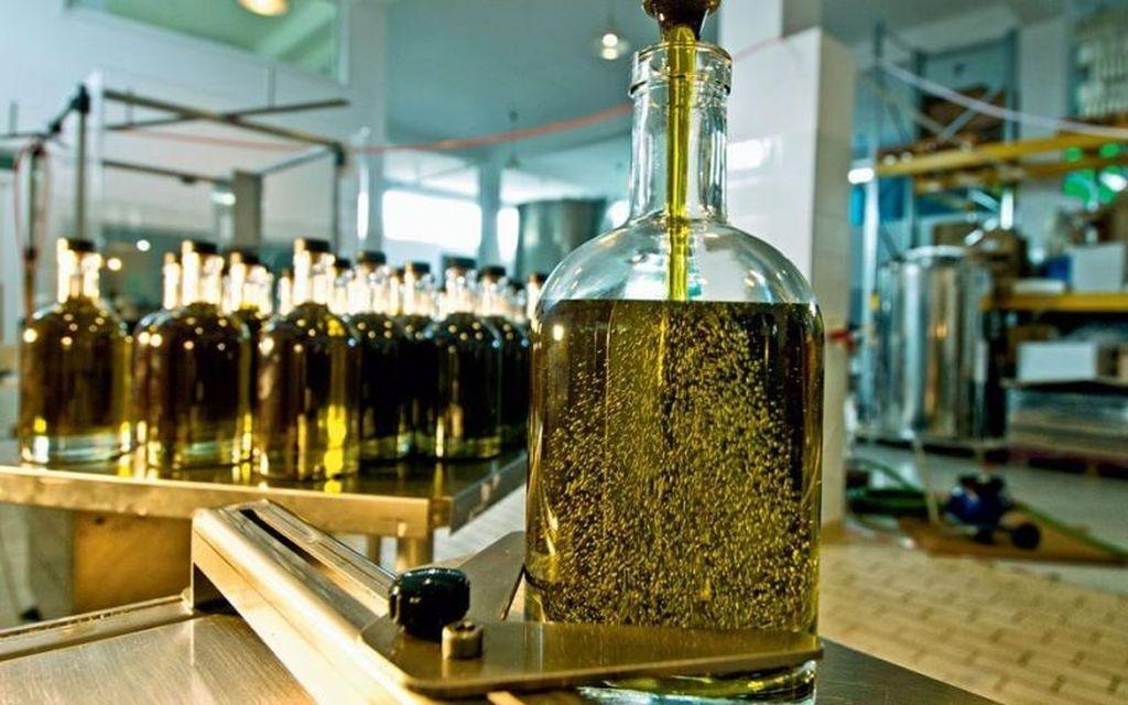 Olivenoel Flasche