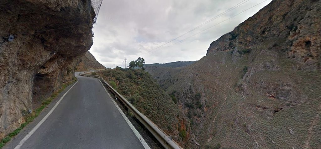 Road Agia Sophia Cave