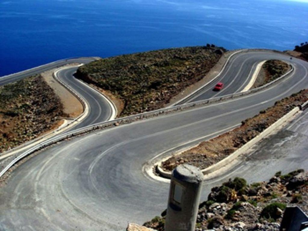 Road Hora Sfakion-Anopolis1