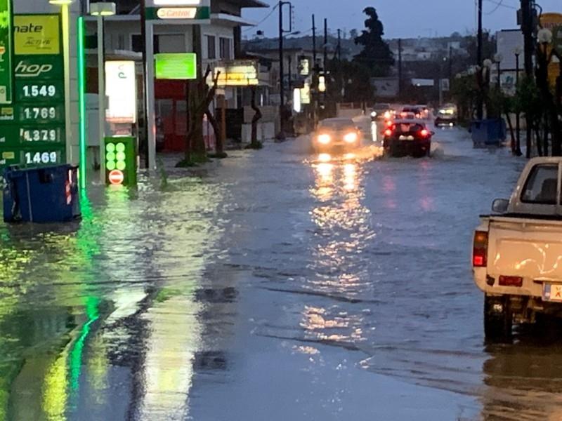 Unwetter 24.02.19 Benzin und Wasser
