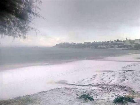 Ierapetra 22.12.2016 mit Schnee